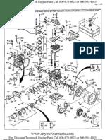 Lawn Boy Silver Series 4.5 Hp 4 Cycle Parts Manual
