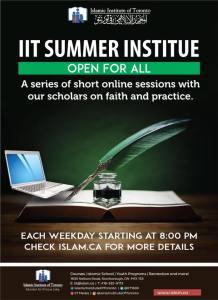 poster - summer institute