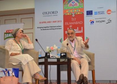 Ahmed Rashid and Ilona Yousaf