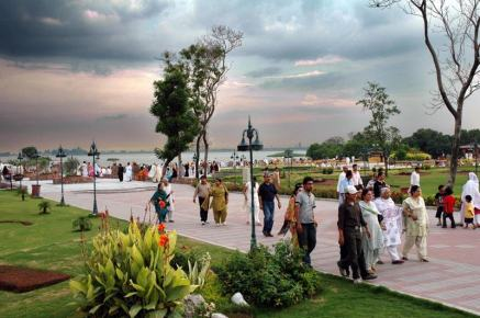 Lake View Park in Islamabad