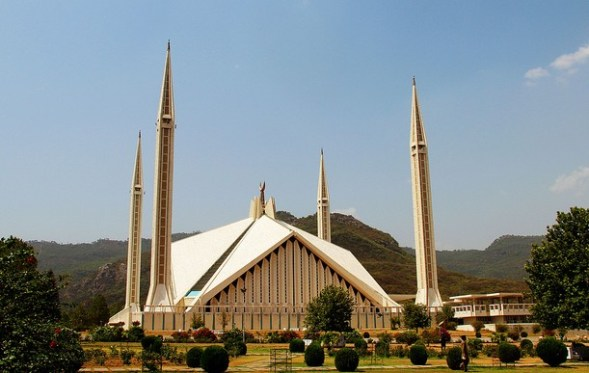 Faisal Mosque - the biggest Mosque of Pakistan