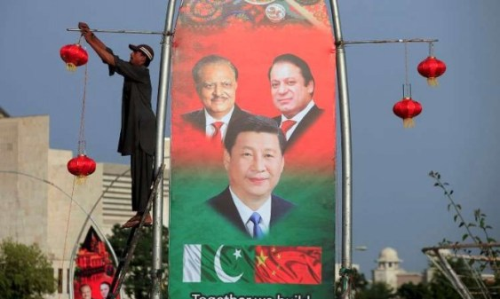 Preparations in Islamabad in full swing before the arrival of Chinese President.