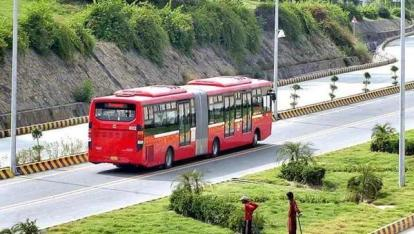 Metro Bus introduced in Islamabad.