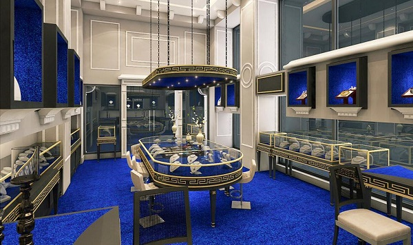 Glimpse of Hanif Jewellery Boutique in Islamabad