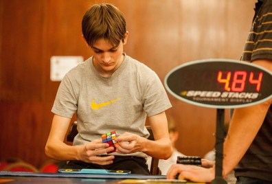 Hunor Bózsing — Hungary's three-time national Rubik's Cube champion — is in Pakistan for country's first Cube competition.