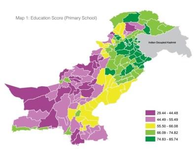 Pakistan District Education Rankings 2016