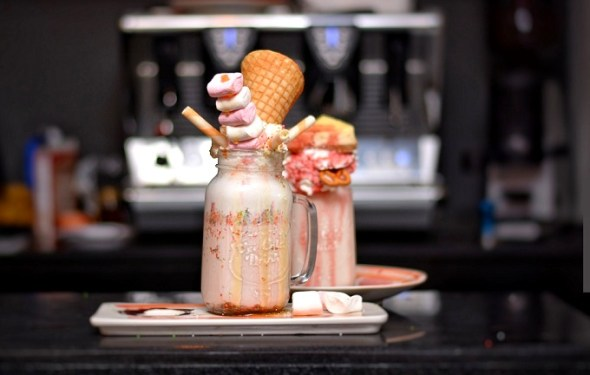 Freak Shake at Social Cafe Islamabad