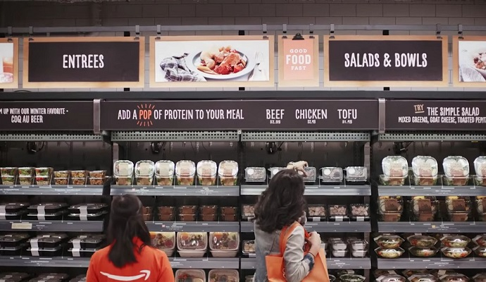 """Amazon launched """"Amazon Go"""" grocery store without Cashier"""