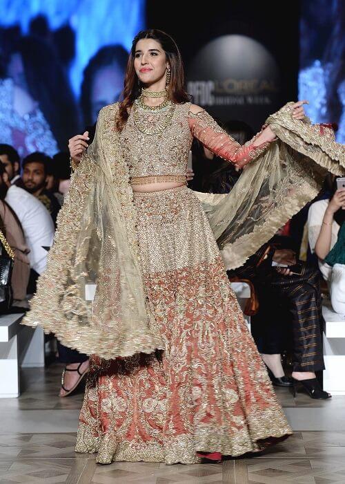Hareem Farooq for Faiza Saqlain