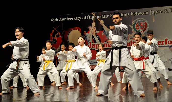 Japanese Cultural performance show in Islamabad