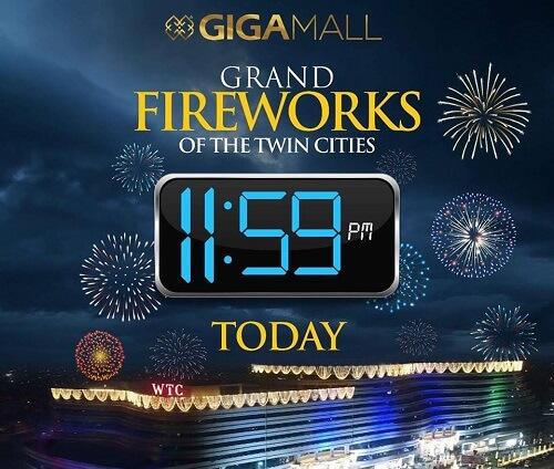 giga mall fireworks