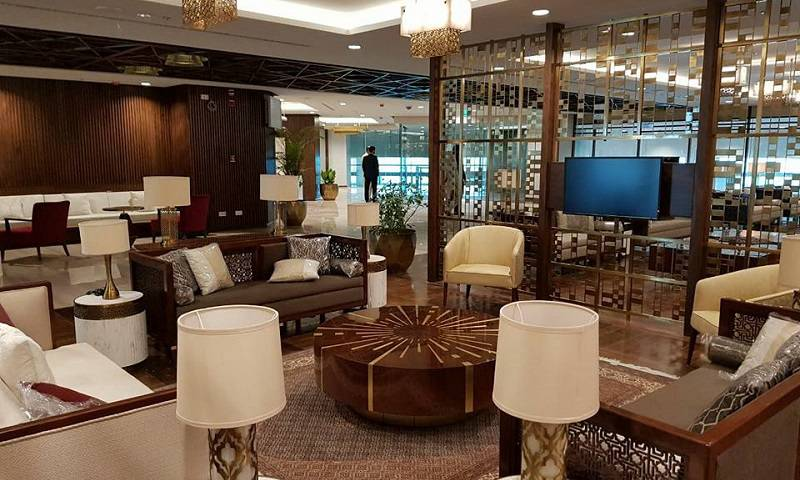 New Islamabad Airport lounge
