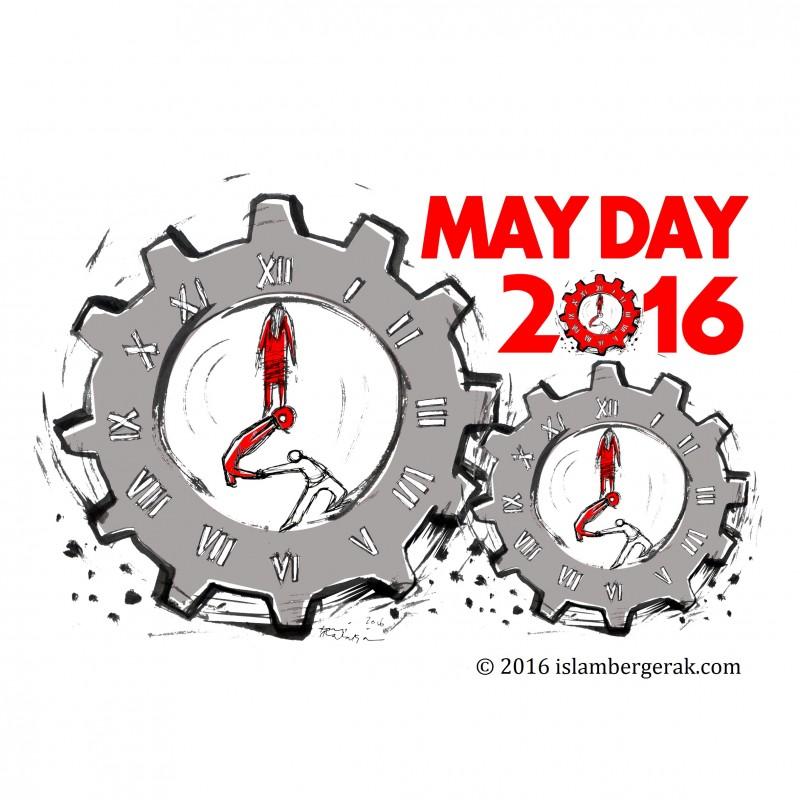 1 Mei Hari Buruh 2016
