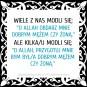 O Allah uczyn mnie dobra zona / mezem, amin!