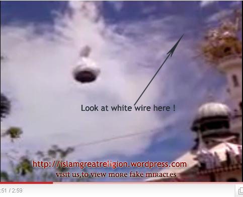 FAKE MIRACLE :: Flying Dome of Mosque in Nepal ! | ISLAM ...
