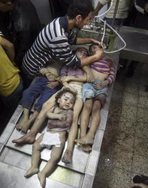 Died in 8 Days War in Gaza by Israel