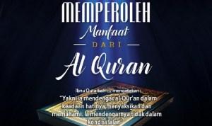 Cara Memperoleh Manfaat dari al-Qur'an