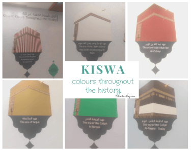 Kiswa color throughout the history