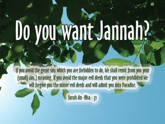 a tour to jannah