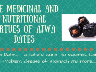 the virtue of Ajwa date and hadiths on ajwa dates