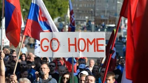 Slovakia bans Islam as state religion , ensures no Mosques are built.