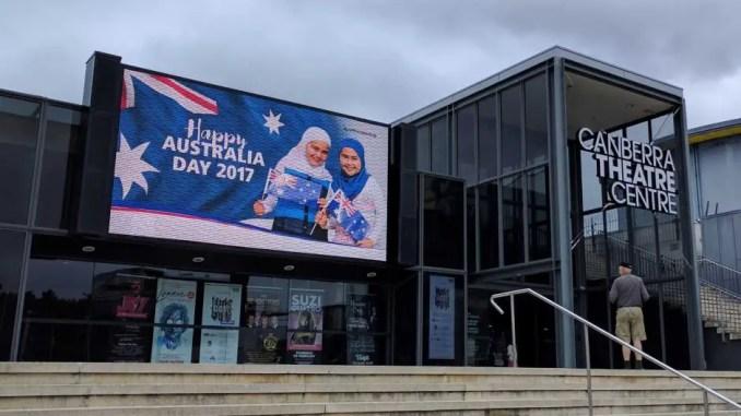 hijab billboard