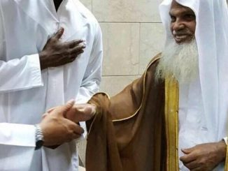 Paul Pogba meets the Imam of Masjid Nabawi