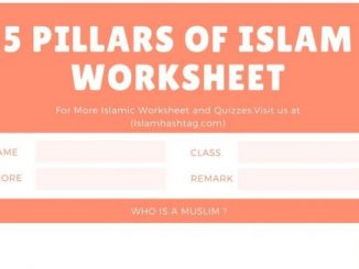 5 Pillars of Islam Worksheet