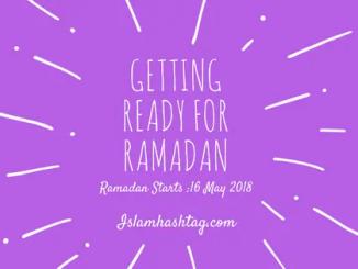 getting ready for ramadan