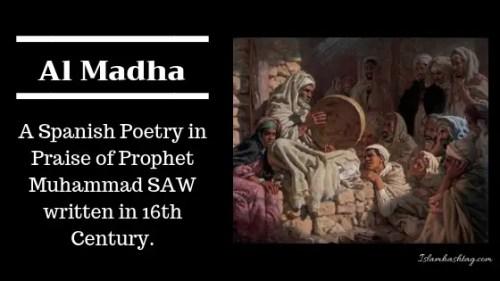 Al Madha ,The Spanish Mawlid Poem from 17th century - Islam Hashtag