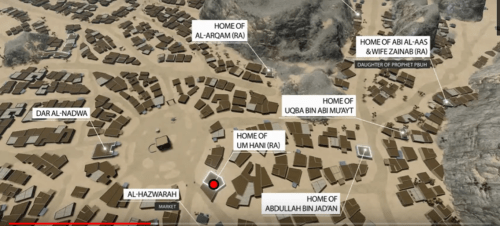 First ever geographically detailed map of Mecca