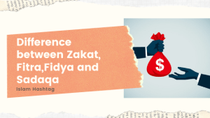 Difference between Zakat, Fitra,Fidya and Sadaqa