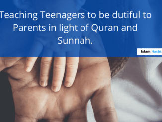 Quran and Hadith regarding disobedience to Parents
