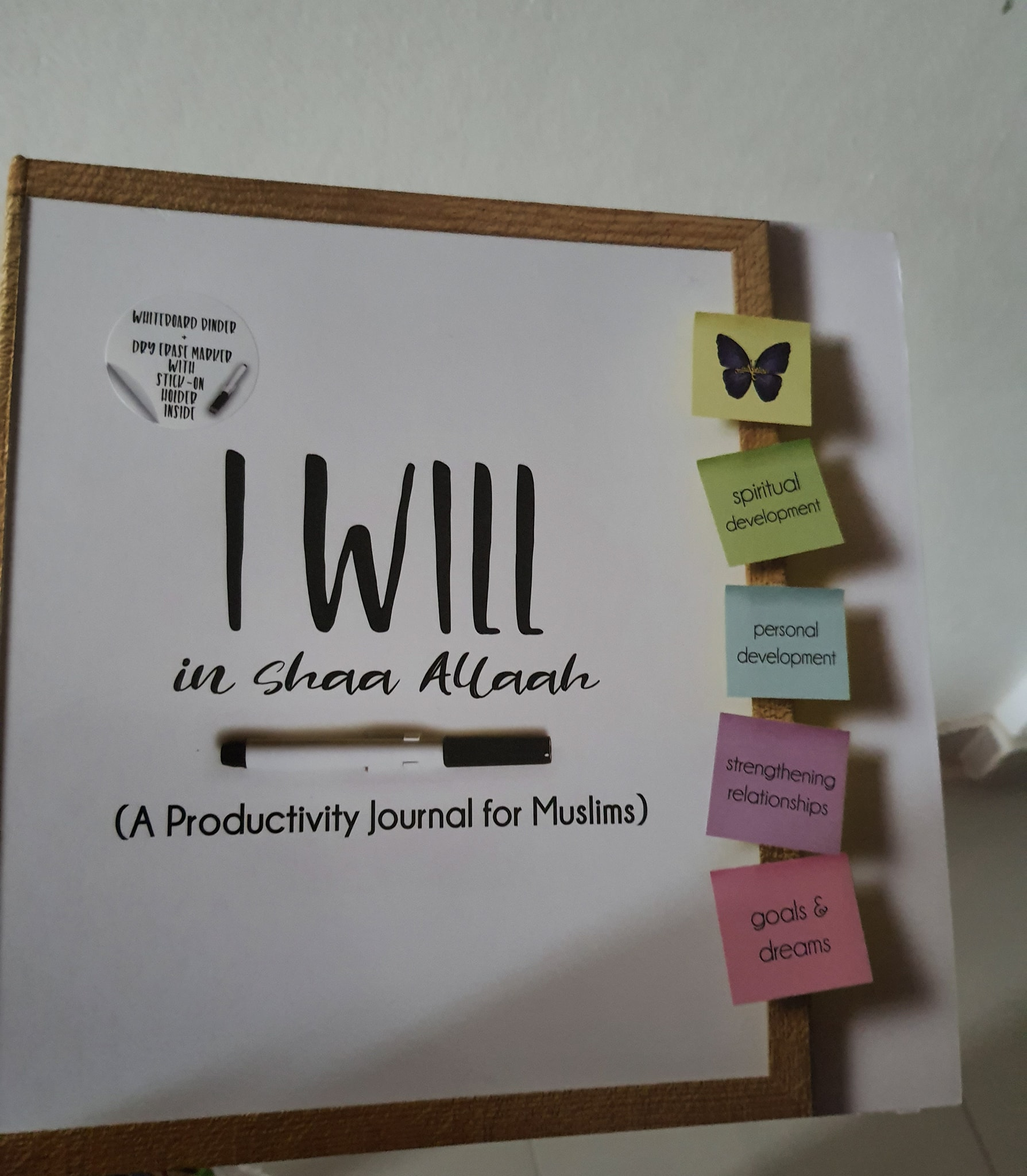 Productivity journal