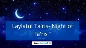 Laylatul Taris