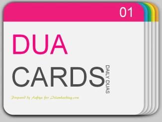dua card
