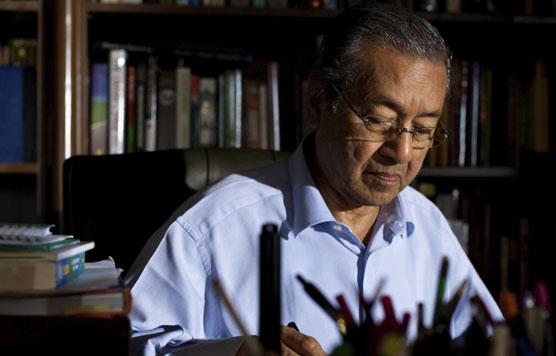 Dr. Mahathir ex-Primer Ministro de Malasia