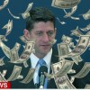 NRA Cash Falls From Sky During Paul Ryan's Response To Mass Shooting