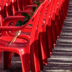 Red Chairs Sarajevo Metal Restaurant 11541 Line - Magazine | Islamic Arts