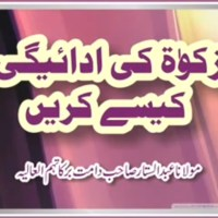 Zakat Ki Adaigi Kaisay Karain by Shaykh Maulana Abdul Sattar Tonswi
