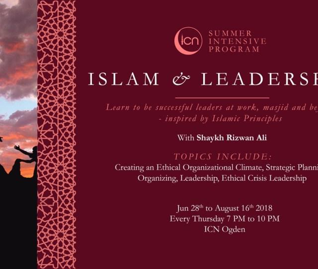 June  Islam Leadership Summer Intensive Program