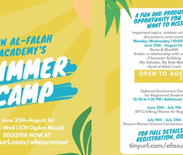 June  Icn Al Falah Academys Summer Camp