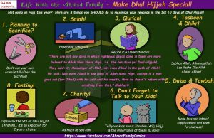 Life with the Ahmad Family Comics - Make Dhul Hijjah Special!