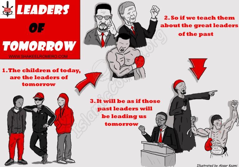Islamic Illustration on the Leaders of Tomorrow