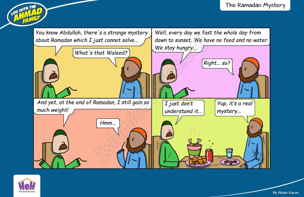 Ramadan Mystery - Life with the Ahmad Family (Islamic Comic)