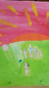 Day Out with My Family - Hana Abdus Samad (Illustrations by Muslim Kids)