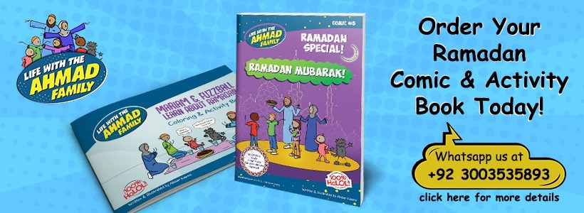 Ahmad Family Comic & Activity Book (Islamic Comics)