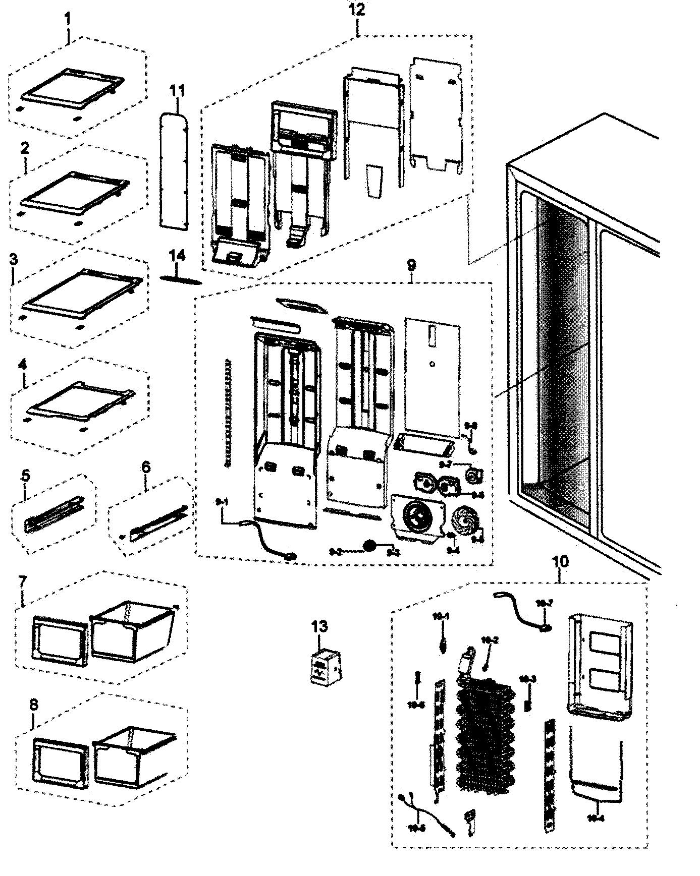 Samsung Refrigerator Manual Rs265tdwp Xaa