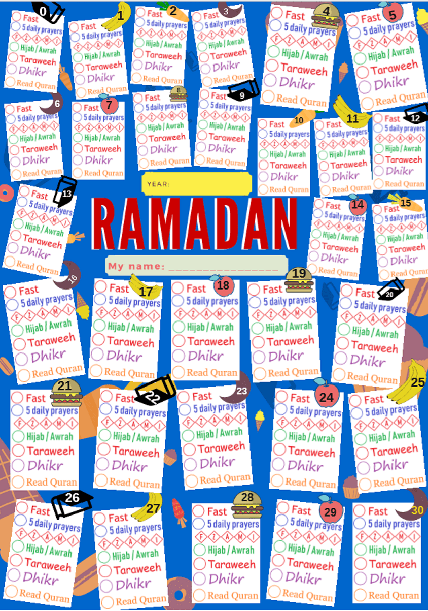 small resolution of islamic worksheets for children – free printables for Muslim kids