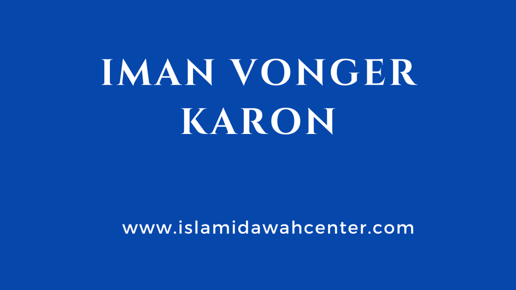 Iman Vonger Karon